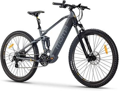 bicicleta electrica doble suspension moma