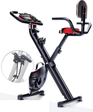 Sportstech F bike x100 b bicicleta estatica plegable
