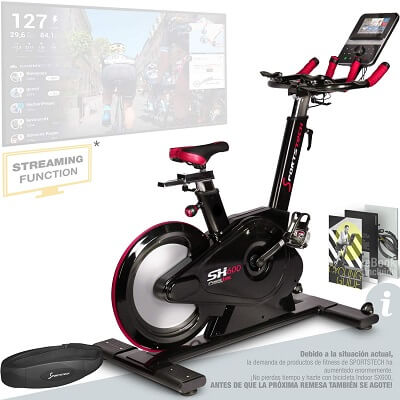 Spotstech sx600 bicicleta spinning profesional
