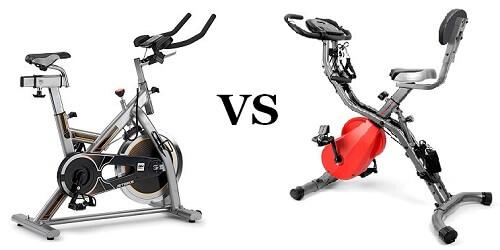 bicicleta de spinning o estática